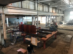На Ливадийском ремонтно-судостроительном заводе за