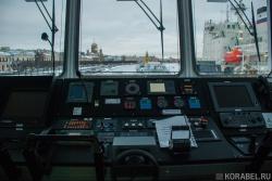 Капитанский мостик судна