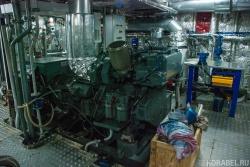 Машинное отделение судна