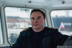 Владимир Емельянов, капитан лоцмейстерского судна