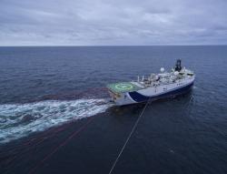 Сейсморазведочные работы на Печорском море