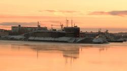 Атомный подводный крейсер стратегического назначен