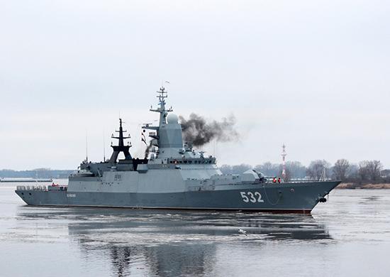 Корабли Балтфлота вернулись домой издальнего океанского похода