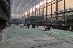 Строительство дноуглубительного судна
