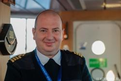 Евгений Летов - капитан судна
