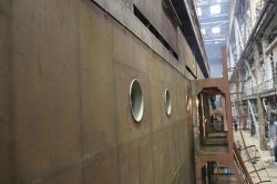 Строительство пассажирского теплохода проекта PV30