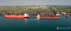 Норвежские танкеры в порту Южный