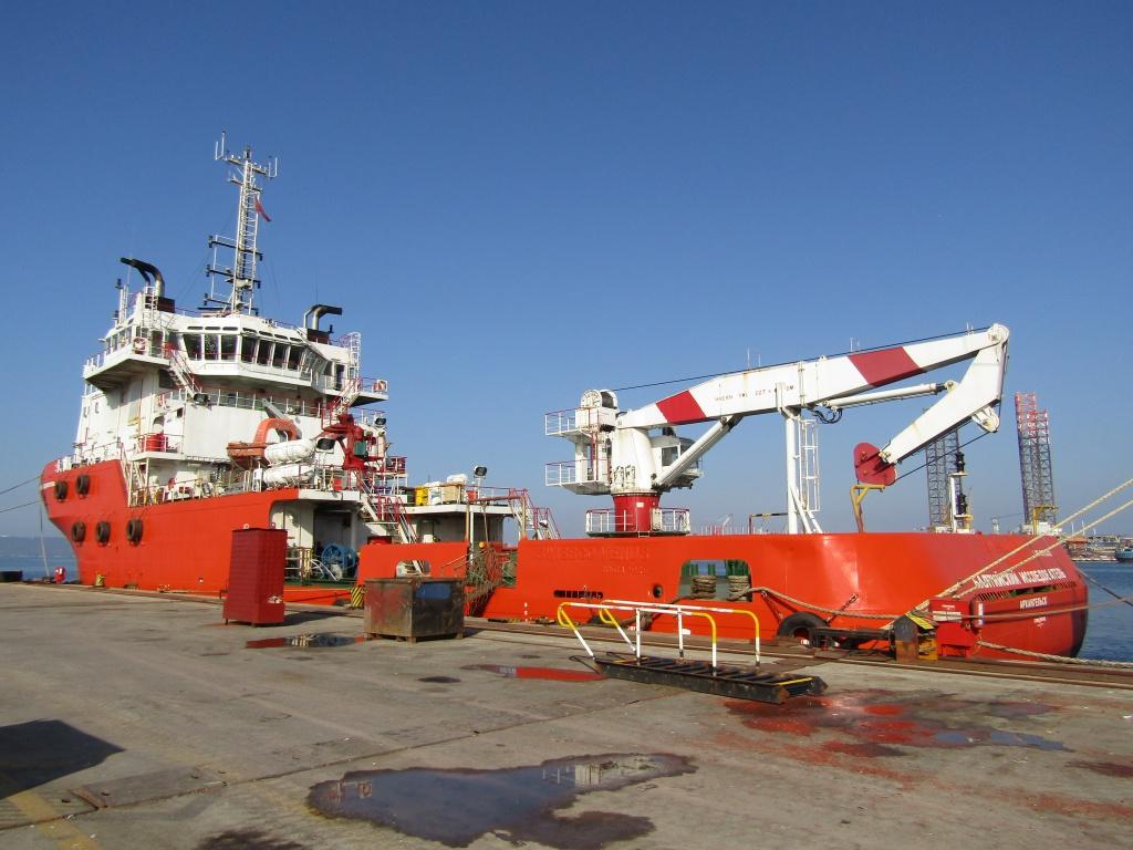 чертежи и фото судна снабжения гданьск уже