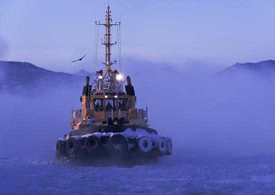Корабль Тихоокеанского флота «Пересвет» провел артиллерийские стрельбы вЯпонском море