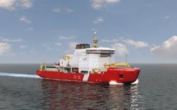 Ледокол для береговой охраны Канады «John G. Diefe