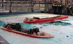 Проведение модельных испытаний в бассейне компании