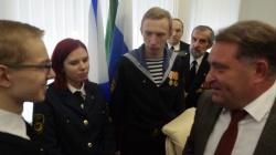 Движение поддержки флота: Федор Ушаков продолжает