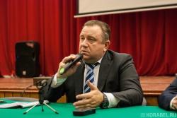 Встреча главы ОСК со студентами СПбГМТУ