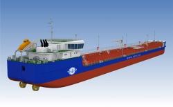 Макет судна проекта RST12C