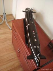 Подводная лодка изготовлен