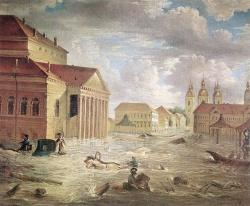 7 ноября 1824 года на площади у Большого театр