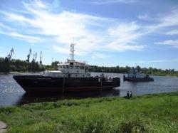 Спущен на воду большой гидрографический катер