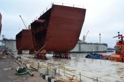 Блок-секции для судна обесп