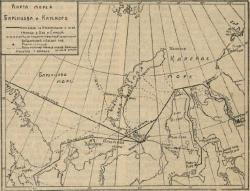 Карта морей Баренцева и Карского