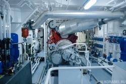 Машинное отделение судна «Конвенна»