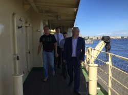 Встреча сотрудников петербургского комитета по дел
