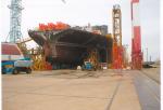 Судостроительный завод STX - сборка судна по метод