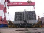 Судостроительный завод STX - сборка танкера 60.000