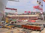 Судостроительный завод STX - cборка судна