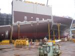 Судостроительный завод STX -- сборка судна по мето