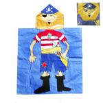 «Полотенце-накидка детское Пират»